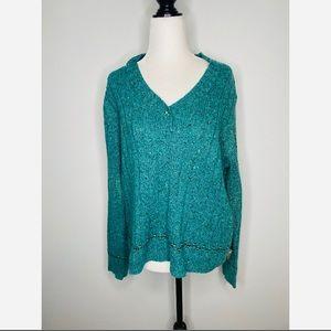 NWT Woolrich Women's Sweater Knit Agate Heather